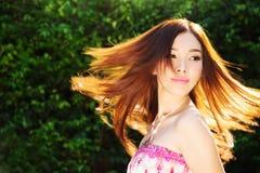 Azjatycka Piękna dziewczyna Zdjęcia Royalty Free