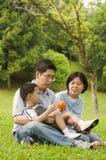 Azjatycka rodzina Fotografia Royalty Free