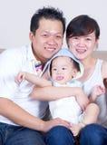 Azjatycka rodzina Obrazy Stock