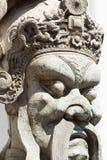 Azjatycka statua w Wacie Pho Fotografia Royalty Free