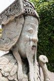 Azjatycka statua w Wacie Pho Fotografia Stock