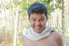 Azjatycka Tajlandzka mężczyzna twarz Obrazy Stock