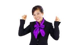 Azjatycka W Średnim Wieku biznesowa kobieta fotografia royalty free