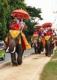 Azjatycka wycieczka turysyczna Zdjęcie Royalty Free