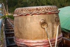 Azjatycki łódkowaty bęben Zdjęcia Stock