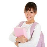 Azjatycki żeński uczeń Obrazy Royalty Free