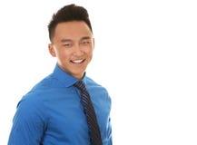 Azjatycki biznesowy mężczyzna zdjęcie royalty free