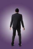 Azjatycki biznesowy mężczyzna zaskakujący Zdjęcia Stock