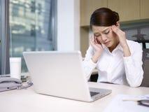 Azjatycki bizneswoman obraz stock