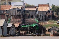 Azjatycki brzeg rzeki obraz stock
