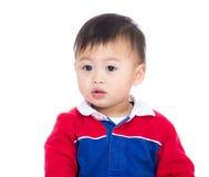 Azjatycki chłopiec portret fotografia stock