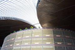 Azjatycki chińczyk, Pekin, Krajowy Centre dla przedstawień, nowożytna architektura Zdjęcie Stock