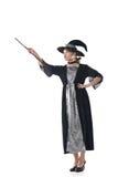 Azjatycki czarownica chwyt coś Obraz Stock