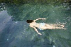Azjatycki dziewczyna plecy Zdjęcie Royalty Free