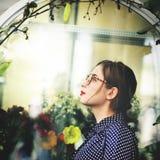 Azjatycki Żeński Modny Elegancki Piękny pojęcie obraz royalty free