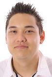 Azjatycki faceta headshot Fotografia Stock