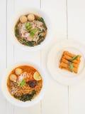 Azjatycki jedzenie Obrazy Royalty Free