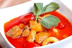 Azjatycki jedzenie phed ped Yang lychees obraz royalty free
