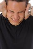 Azjatycki mężczyzna gniewny fotografia stock