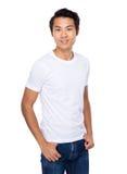 Azjatycki młodego człowieka portret Obrazy Royalty Free
