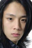Azjatycki młody człowiek fotografia stock