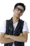 Azjatycki młody człowiek zdjęcia stock