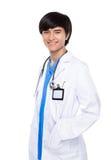 Azjatycki młody lekarza medycyny portret Obraz Royalty Free