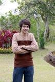 Azjatycki nastoletni chłopak Zdjęcia Royalty Free