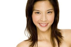 Azjatycki Piękno obrazy royalty free