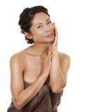Azjatycki piękno fotografia royalty free