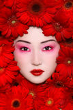 Azjatycki piękno Obraz Royalty Free