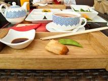 Azjatycki posiłek obrazy royalty free