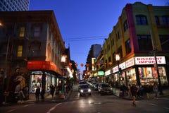 Azjatycki renaissance na Grant drodze, Chinatown, San Fransisco, Kalifornia, usa Obraz Royalty Free