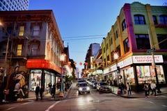 Azjatycki renaissance na Grant drodze, Chinatown, San Fransisco, Kalifornia, usa Fotografia Royalty Free