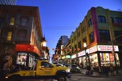 Azjatycki renaissance na Grant drodze, Chinatown, San Fransisco, Kalifornia, usa Zdjęcia Stock