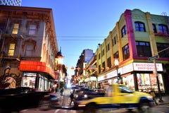Azjatycki renaissance na Grant drodze, Chinatown, San Fransisco, Kalifornia, usa Zdjęcia Royalty Free