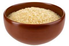 Azjatycki ryżowy puchar odizolowywający. Zdjęcie Royalty Free
