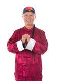 Azjatycki starszy chińczyk fotografia royalty free