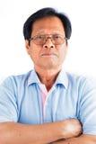 Azjatycki stary człowiek Fotografia Stock