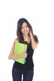 Azjatycki Uczeń obraz stock
