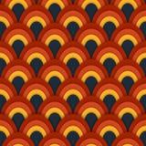 Azjatycki wektorowy bezszwowy abstrakta wzór Zdjęcie Royalty Free