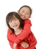 Azjatyckie Dziewczyny Fotografia Royalty Free