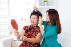 Azjatyckie kobiety Zdjęcia Stock