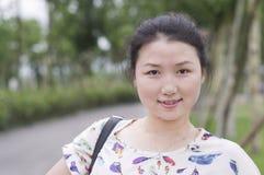 Azjatyckie kobiety w parku Fotografia Stock
