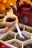 Azjatyckie Ziołowe Herbaty Zdjęcie Stock