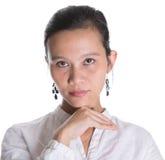 Azjatyckiej damy Fachowy portret IV Fotografia Stock
