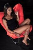 azjatykci atrakcyjni lat dwudziestych kobiety potomstwa Zdjęcie Royalty Free