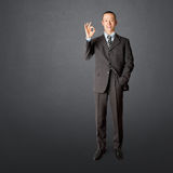 azjatykci biznes folująca długości samiec Zdjęcia Stock
