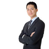 azjatykci biznesowego mężczyzna potomstwa fotografia royalty free
