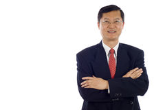 azjatykci biznesowy mężczyzna Zdjęcie Stock